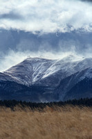 Winter Storm over Pikes Peak