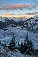 Sunrise at Independence Pass